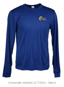 4imprint Promotional Product - Contender Athletic LS T-Shirt - Men's