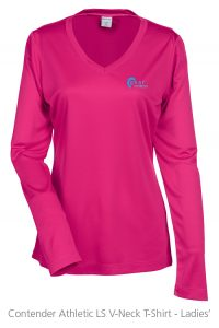 4imprint Promotional Product - Contender Athletic LS T-Shirt - Ladies