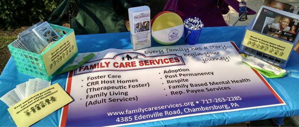 amplify promotional products magazine - Family Care Services Booth