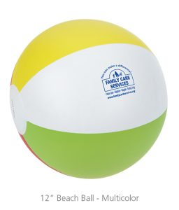 "12"" Beach Ball - Multicolor - 4imprint promotion products"