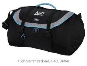 High Sierra Pack-n-Go 40L Duffel Bag