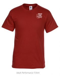 Adult Performance t-shirt - 4imprint promotional products
