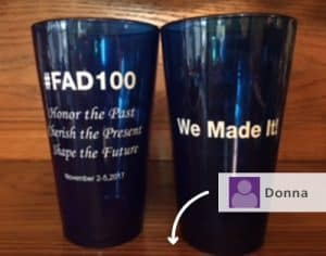 Custom promotional glasses