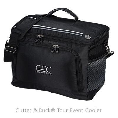 Cutter & Buck Tour Event Cooler - Golf Swag from 4imprint