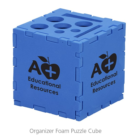 Organizer Foam Puzzle Cube - Training swag that's practical and fun!
