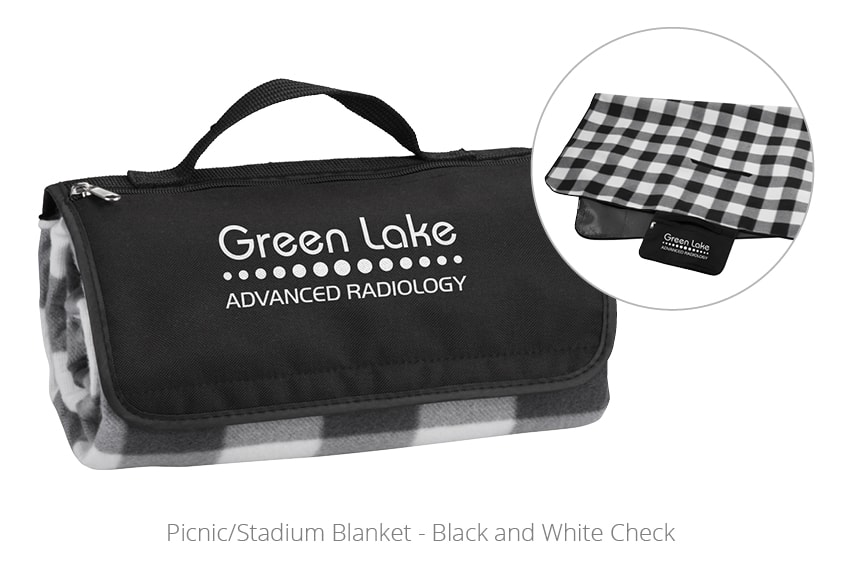 Picnic Stadium Blanket - perfect for blanket giveaways