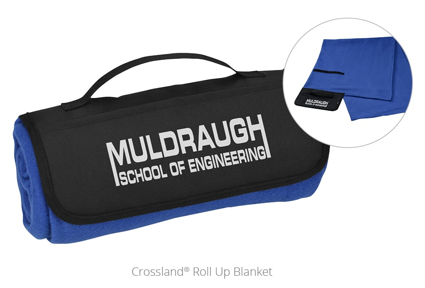 Crossland Roll Up Blanket - promotional blankets from 4imprint