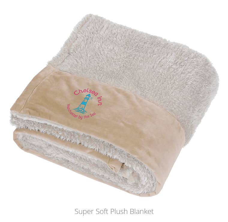 Creame Super Soft Plush Blanket - perfect for an organization to use for a blanket giveaway