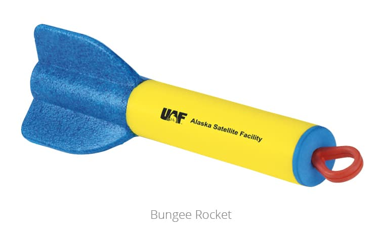 Bungee Rocket - a top giveaway for fun promotional items