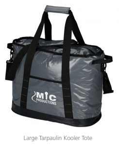 Large Tarpaulin Kooler Tote - Great idea for business gift items this summer