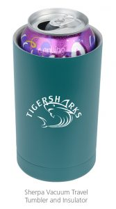 Sherpa Vacuum Travel Tumbler and Insulator - Great idea for business gift items this summer