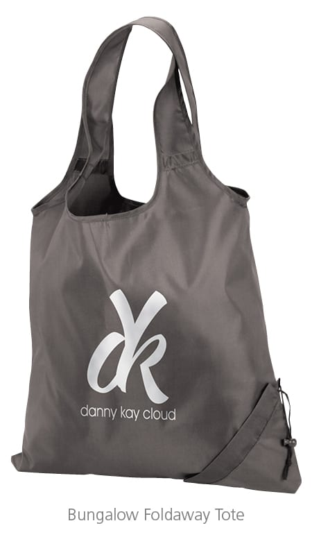 Bungalow Foldaway Tote - perfect swag bags for events