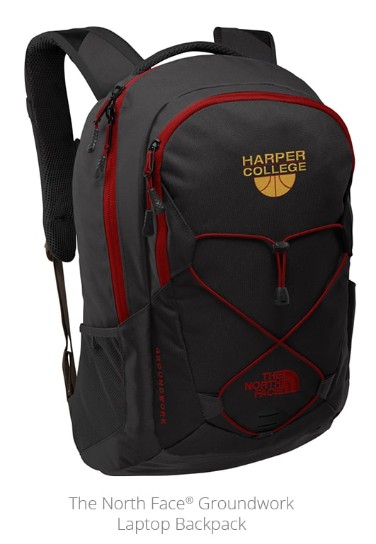 The North Face Groundwork Laptop Backpack is a great outdoor promotional item for the hiking trail.