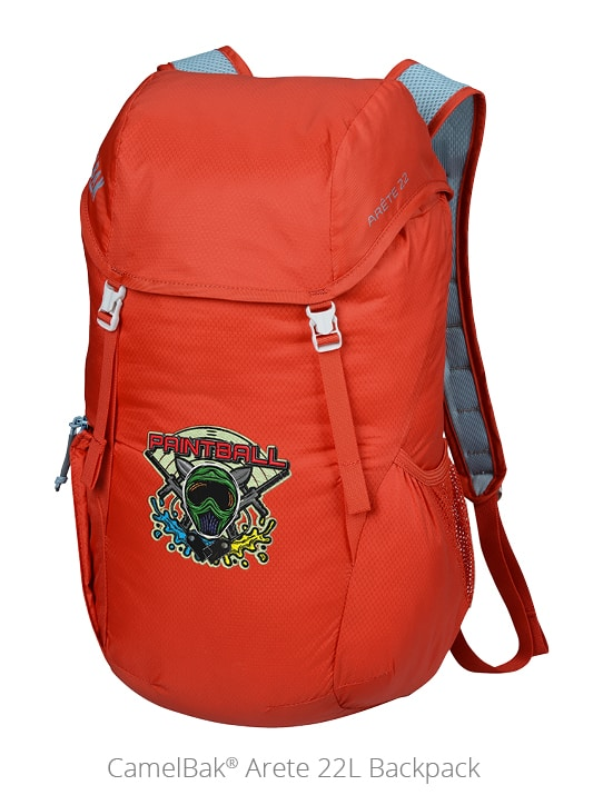 CalBak Arete 22L Backpack is a fun outdoor promotional item for camping.