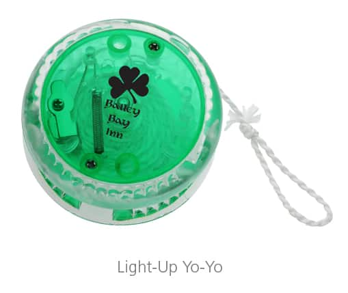 Light-Up Yo-You - trade show giveaways to help you build relationships and boost sales
