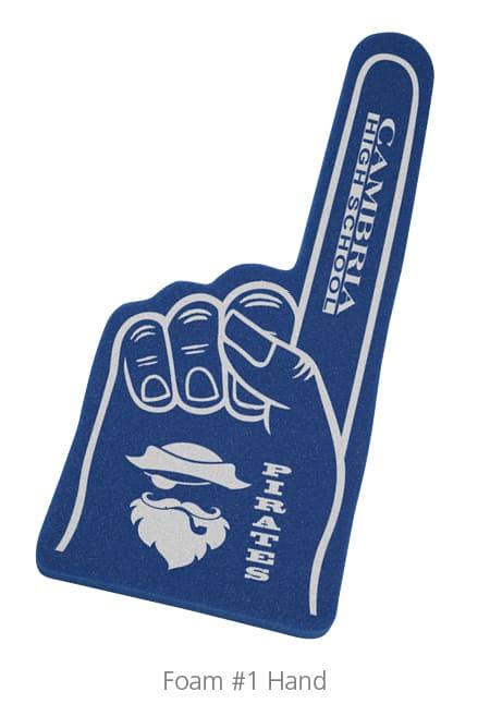 Foam #1 Hand