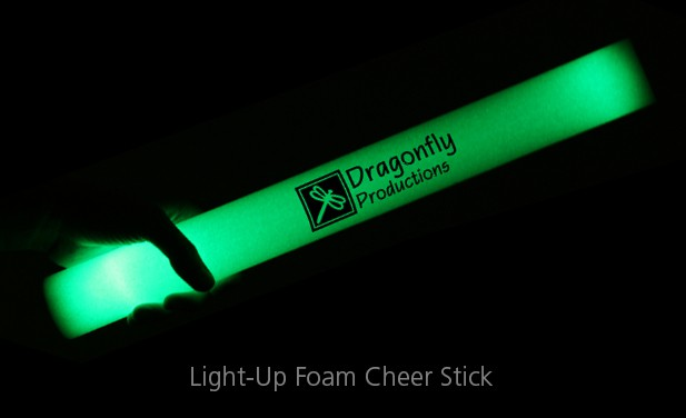 Light-Up Foam Cheer Stick - foam promotional products make for great event gifts