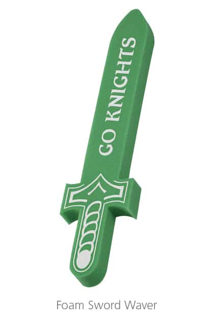 Foam Sword Waver - foam promotional products make for great event giveaways