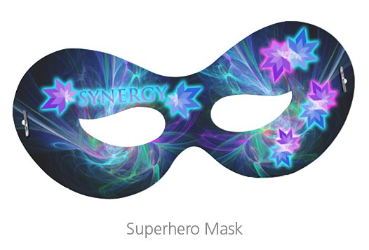 superhero mask - event gifts that your attendees will love