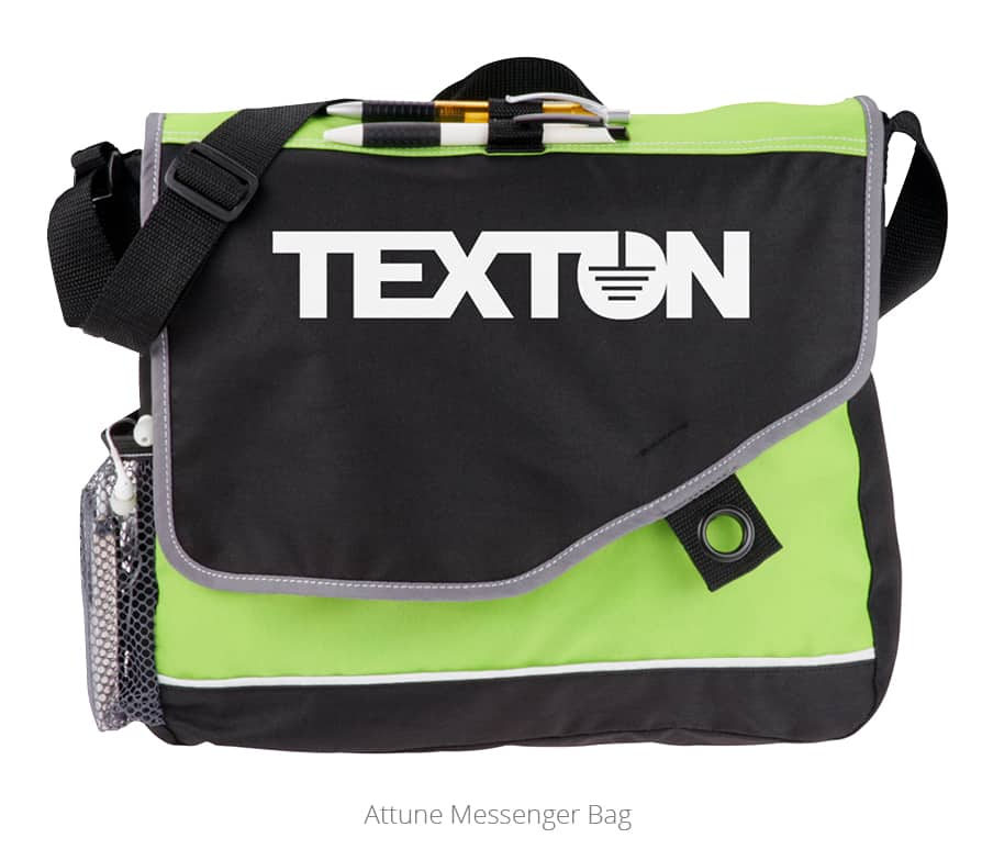 The Attune Messenger Bag is an excellent university promotional product.