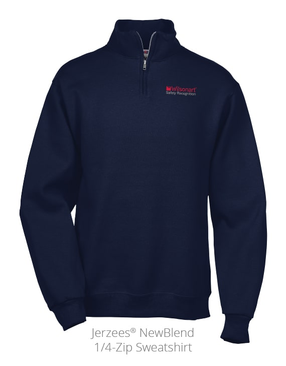 Jerzees NewBlend 1/4-Zip Sweatshirt