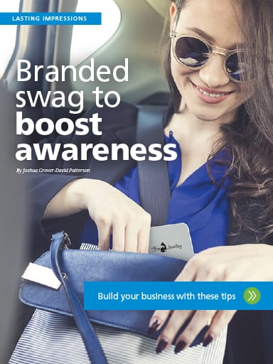 Lasting Impressions story image: Branded swag to boost awareness - Build your business with these tips