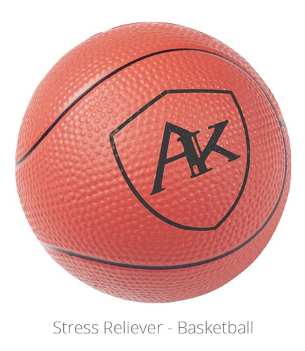 Stress Reliever - Basketball makes a great networking gift.