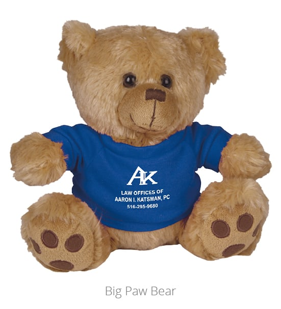 Big Paw Bear is an adorable networking gift.