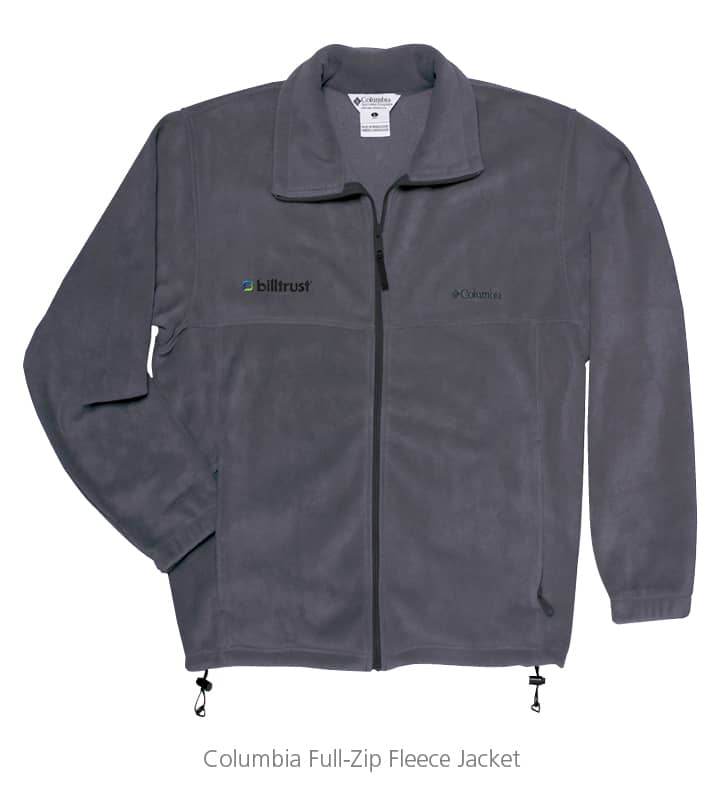 A Columbia Full-Zip Fleece Jacket makes a great employee recognition gift.