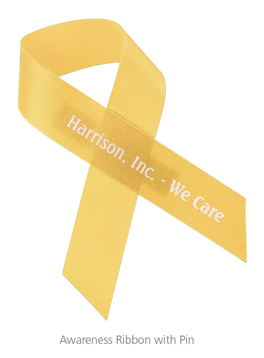 An Awareness Ribbon with Pin is a great employee recognition gift.
