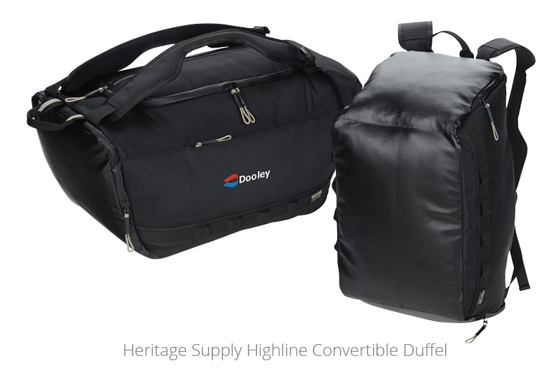 Heritage Supply Highline Convertible Duffel