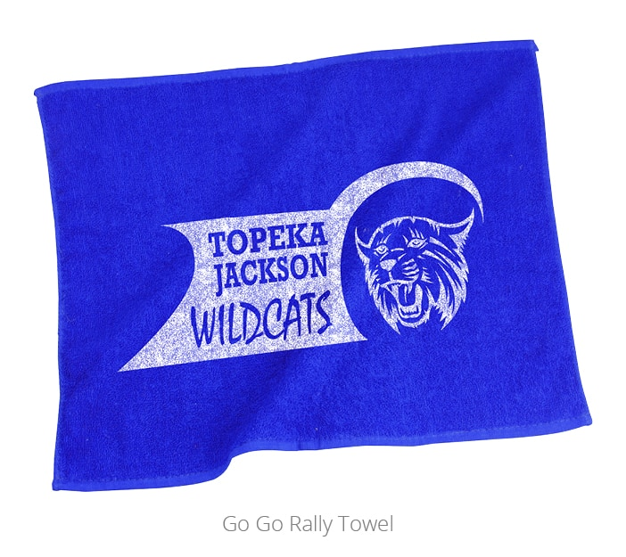 Go Go Rally Towel is a classic sports giveaway.
