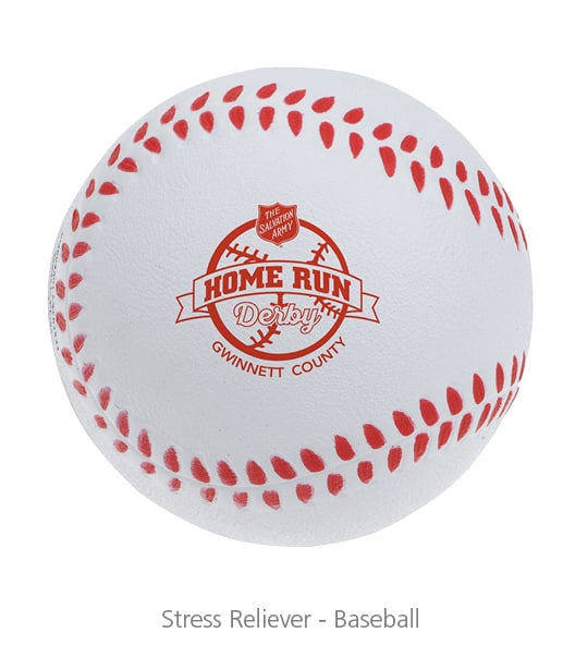 Stress Reliever Baseball - nonprofit promotional items