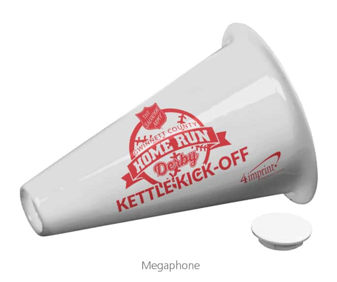 Megaphone - nonprofit promotional items