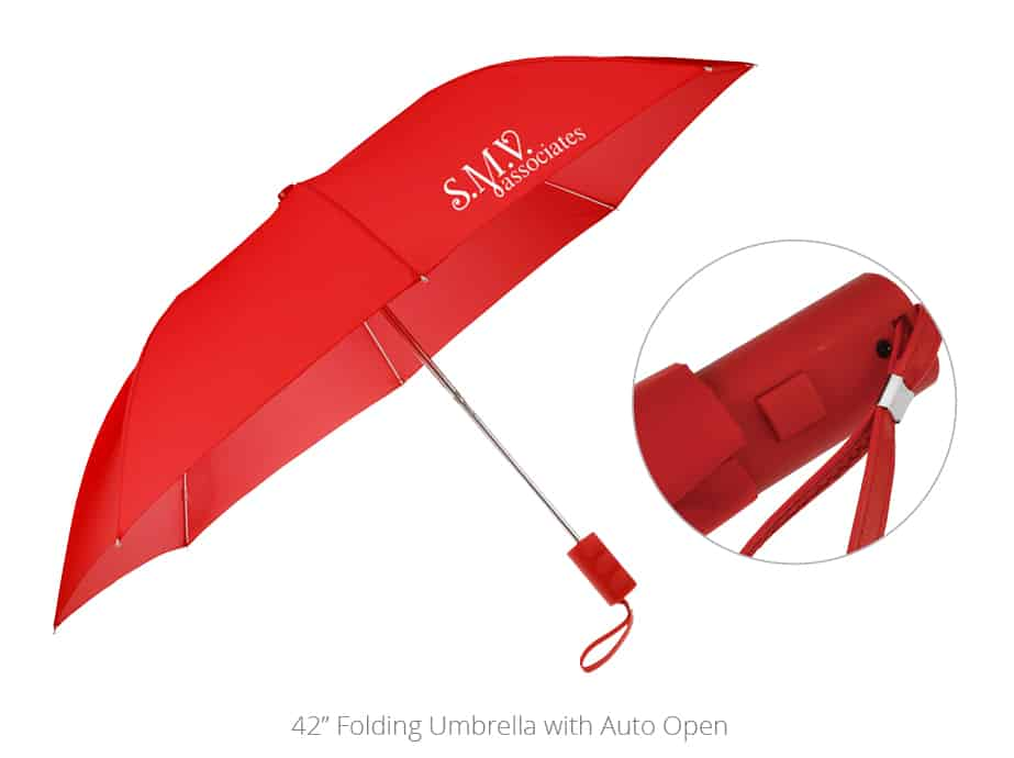 Folding Umbrella with Auto Open