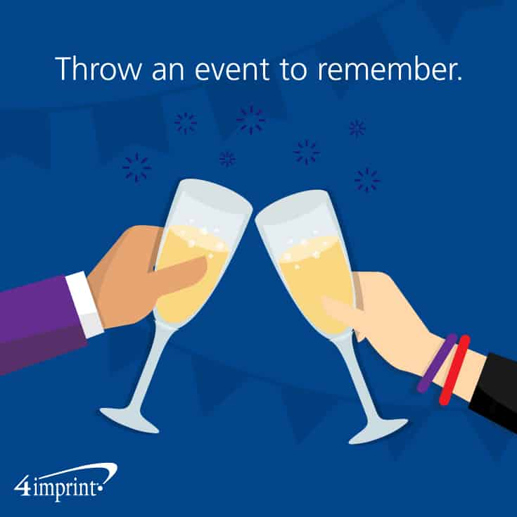Throw a company anniversary event to remember.
