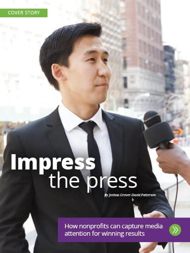 Thumbnail of amplify cover story: Impress the press.
