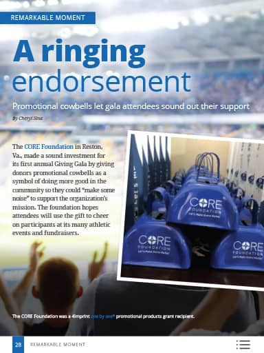 Remarkable Moments thumbnail: A ringing endorsement