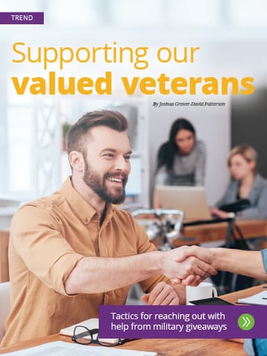 Trend thumbnail: Supporting our valued veterans