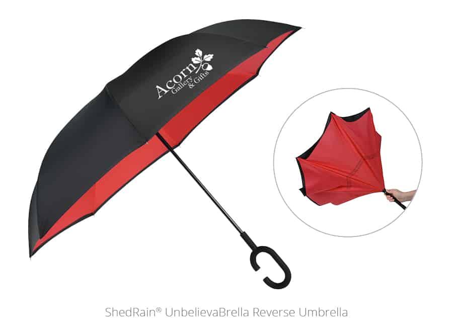 ShedRain® UnbelievaBrella Reverse Umbrella