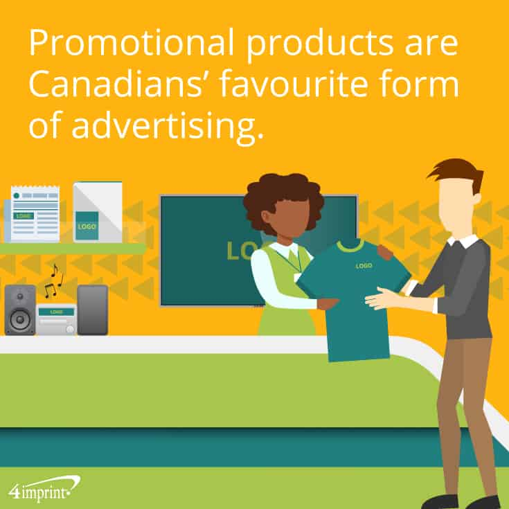 Promotional products are Canadians' favourite form of advertising. | Fun promotional games from 4imprint.