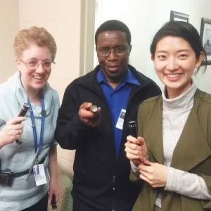 See how Canadian Association for Spiritual Care is using promotional flashlights to raise awareness of the services they provide.