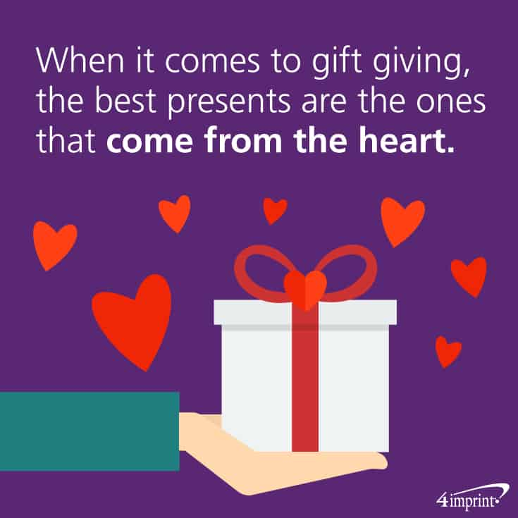 When it comes to gift giving, the best presents are the ones that come from the heart.