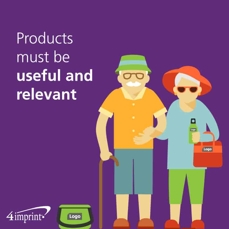 Products must be useful and relevant.