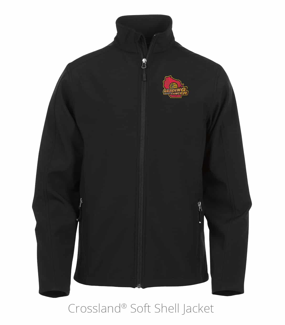 Crossland® Soft Shell Jacket used for nonprofit promotional products at events