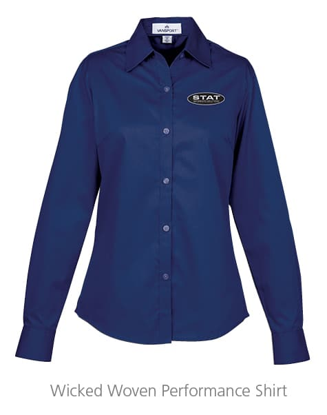 Wicked Woven Performance Shirt - Ladies