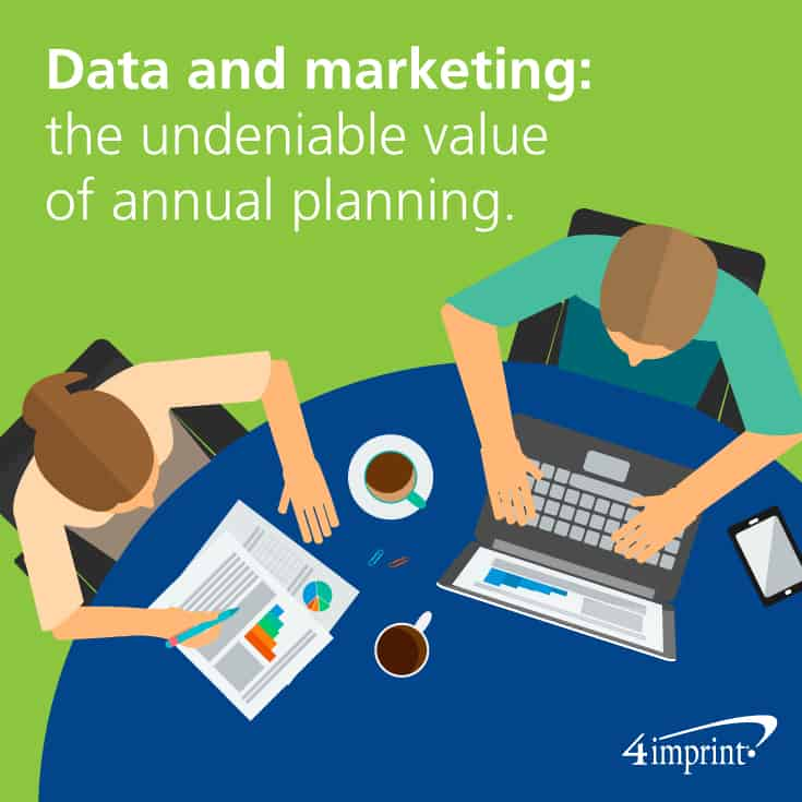 Data and marketing: the undeniable value of annual planning.