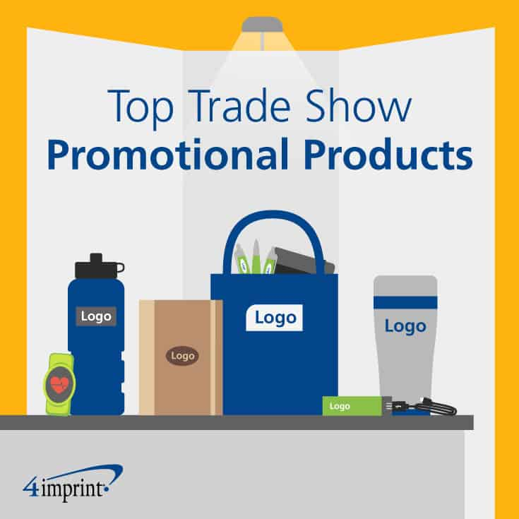 Top trade show promotional products. Find the best giveaways for trade shows at 4imprint.
