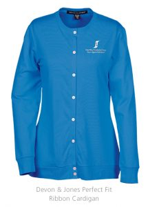 Devon & Jones Perfect Fit Ribbon Cardigan | 4imprint promotional product