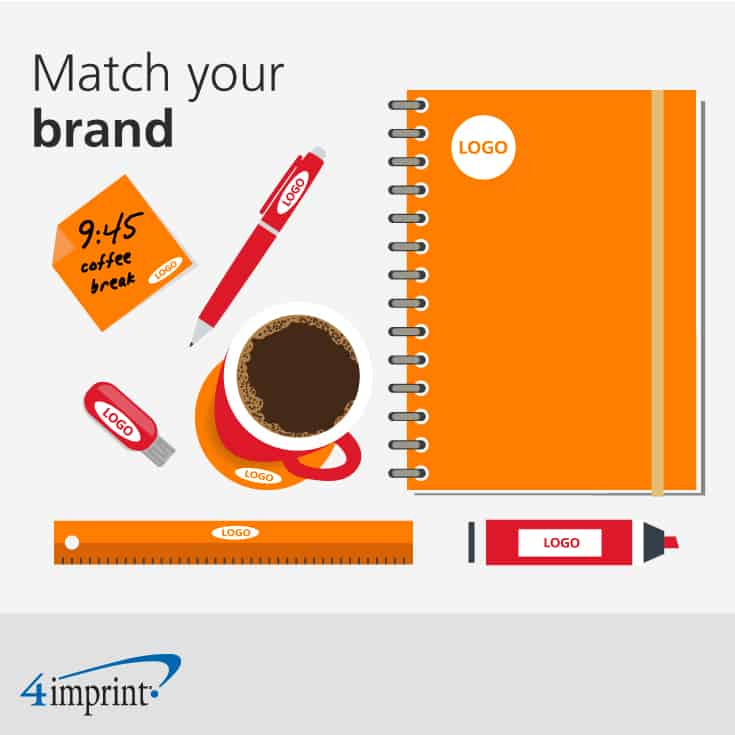 When choosing must-have promotional drinkware, align colors to your brand.